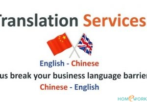 I will translate Chinese to English and vice versa