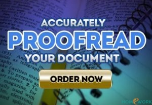 I will Proofread Documents
